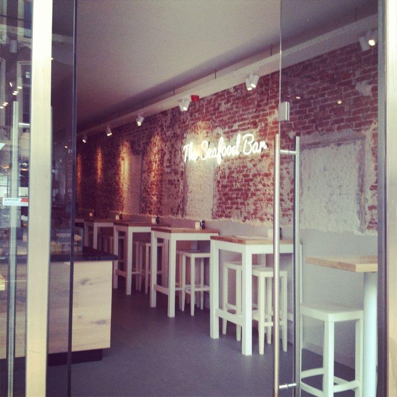 The seafood bar story154 for Seafood bar van baerlestraat