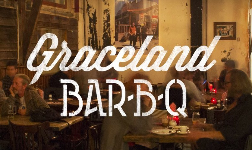 Graceland. All American BBQ joint.  